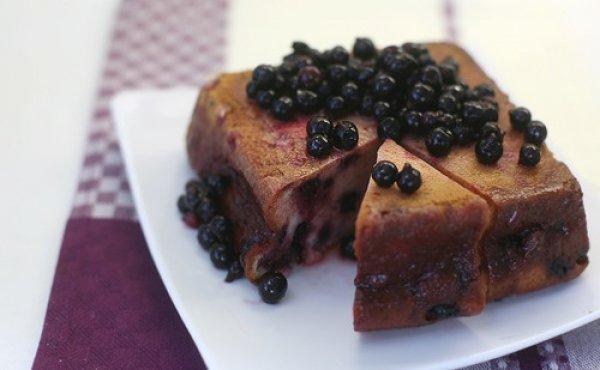 Рецепт                  Смородиновый пирог с пропиткой