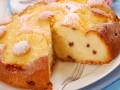 Творожная запеканка с изюмом и ананасами