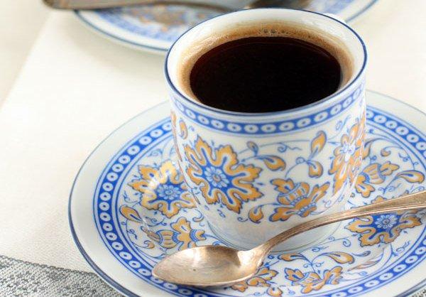 Рецепт                  Карамельный кофе в турке