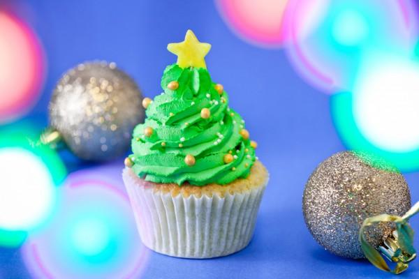 Рецепт                  Кексы Новогодняя елка