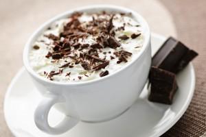 Горячий белый шоколад