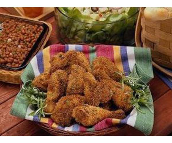 Рецепт                  Курица в пряной сырной панировке