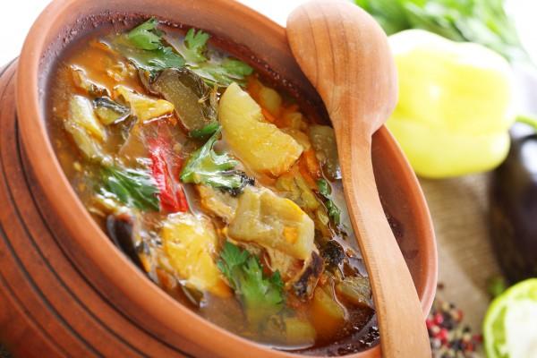Рецепт                  Рагу из летних овощей