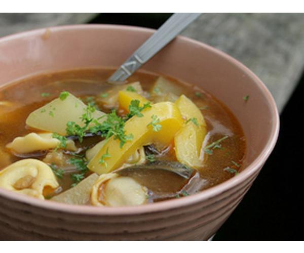 Рецепт                  Средиземноморский суп