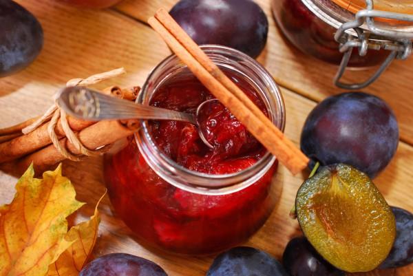 Рецепт                  Сливовое варенье без сахара