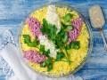 Рецепты на 8 марта: салат Сирень