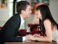 Половина мужчин влюбляются на первом свидании