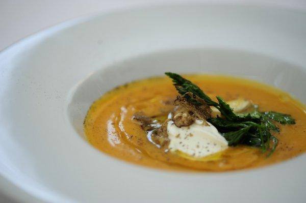 Рецепт                  Крем-суп из тыквы с белыми грибами