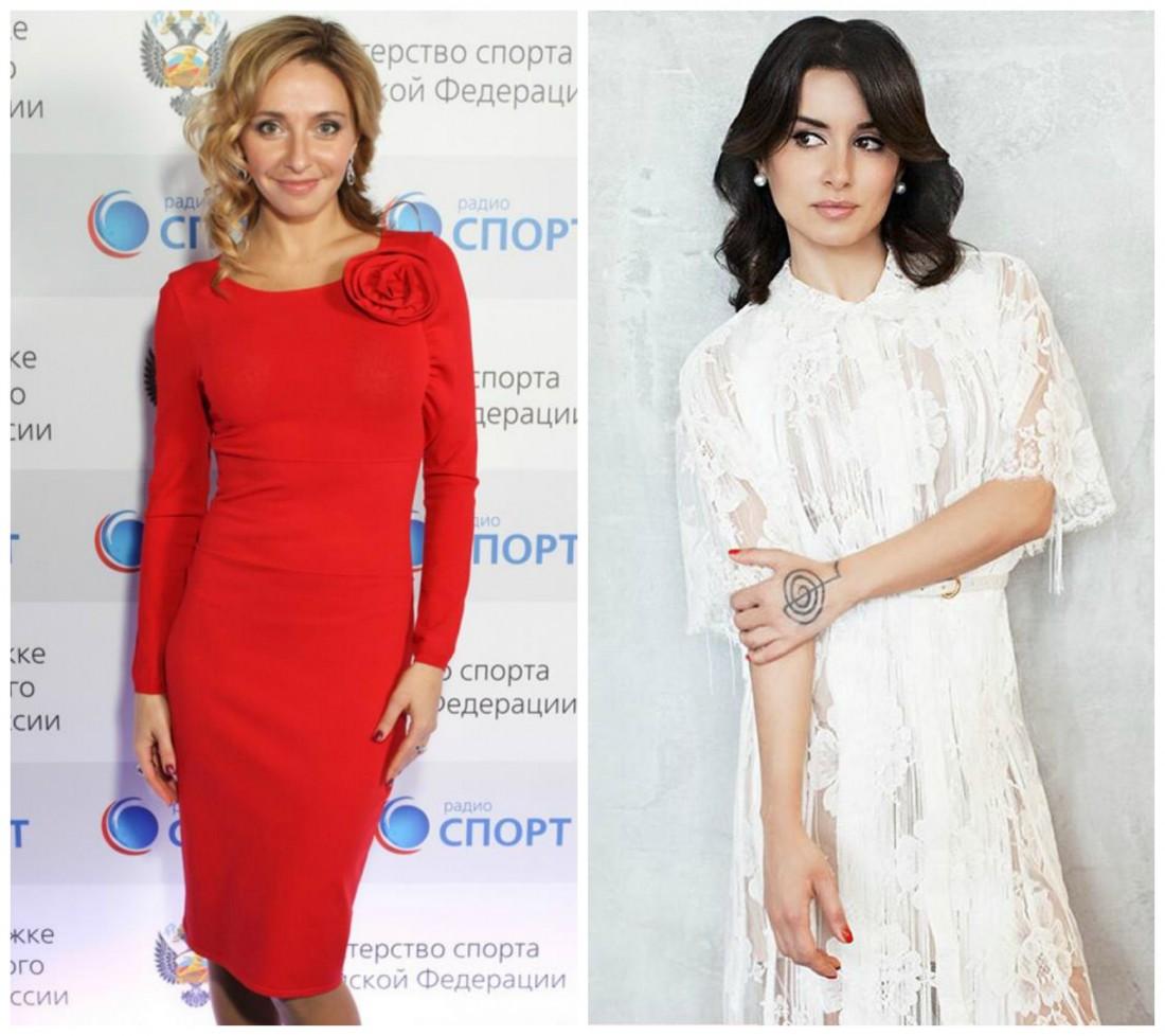 Татьяна Навка (слева) и Тина Канделаки