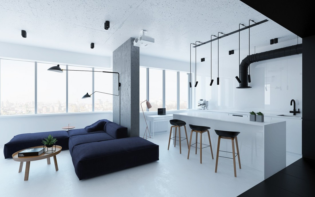 В стиле минимализм: как оставить в квартире больше пространства ...