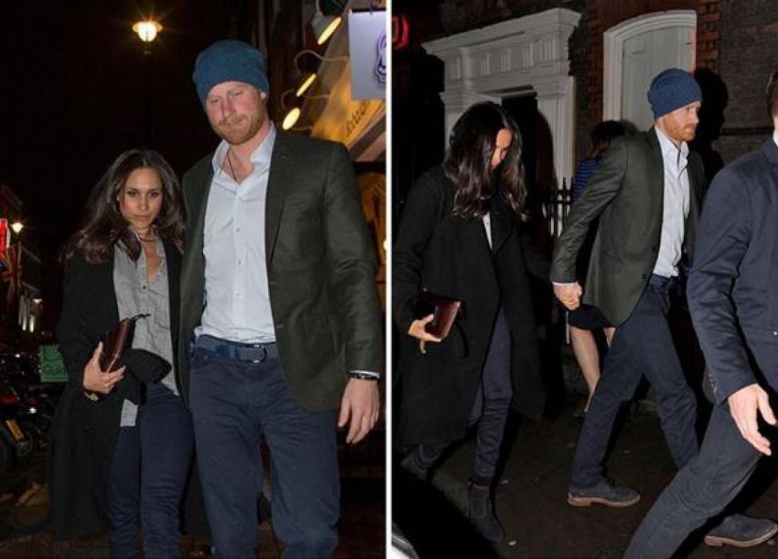 Отношения принца Гарри и Меган Маркл перешли на новый этап ...