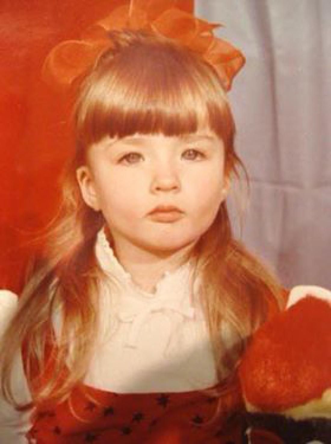 Валерия Лукьянова в детстве