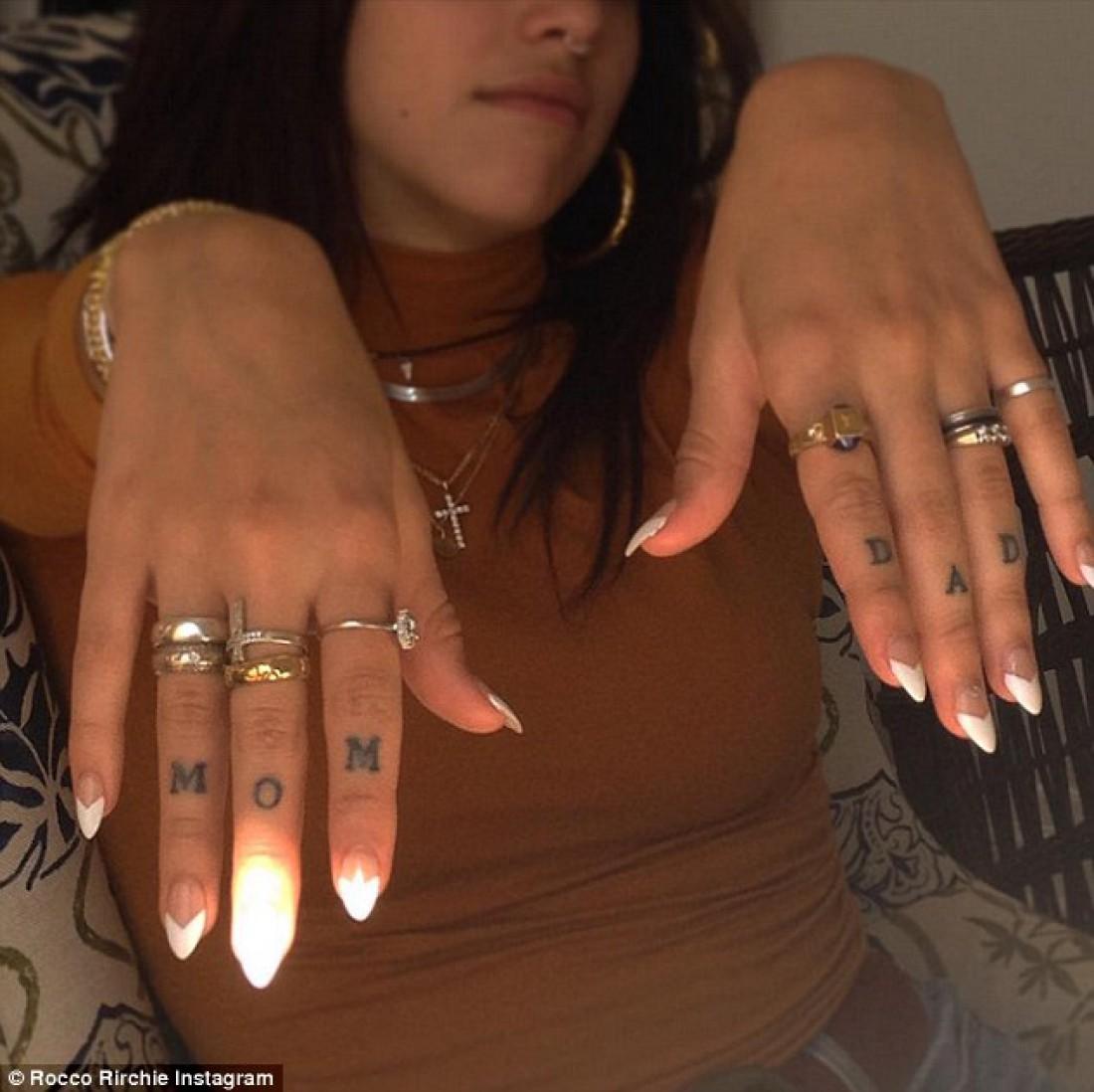 Татуировка дочки Мадонны