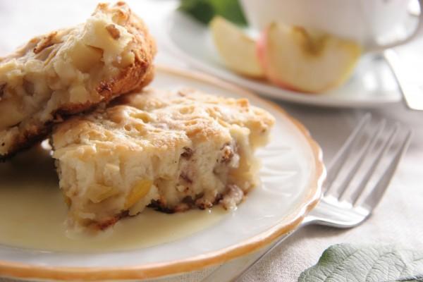 Рецепт                  Фруктовый пирог с орехами