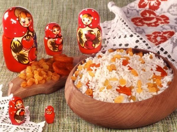 Рецепт                  Кутья на Рождество из риса