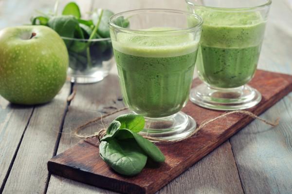Рецепт                  Яблочный смузи с виноградом и имбирем