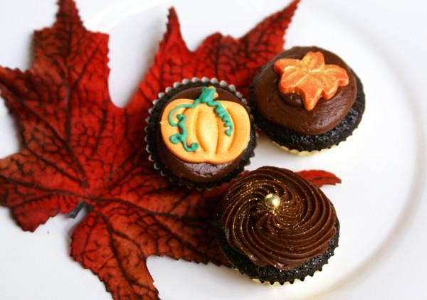 Рецепт                  Рецепты на Хэллоуин: Шоколадные капкейки