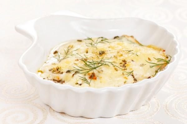Рецепт                  Новогодние рецепты: Жюльен с курицей и грибами