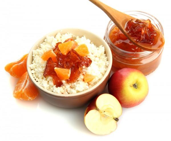 Рецепт                  Варенье из яблок и мандаринов