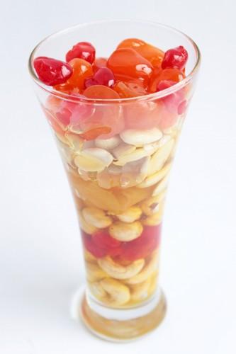 Рецепт                  Орехи с сухофруктами в меду
