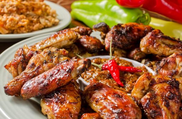 Рецепт                  Шашлык из куриных крылышек
