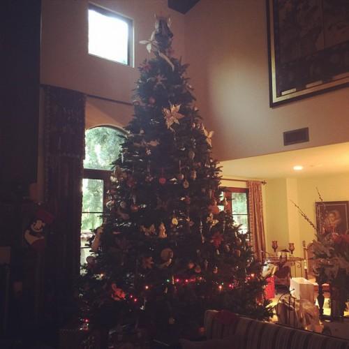 Мила Йовович показала свою новогоднюю елку