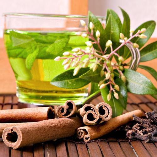Рецепт                  Зеленый чай с мятой и лимоном