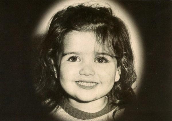 Наталья Орейро в детстве