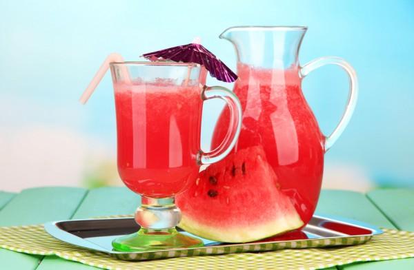 Рецепт                  Освежающий арбузный напиток