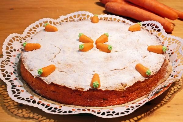 Рецепт                  Морковный пирог с имбирем