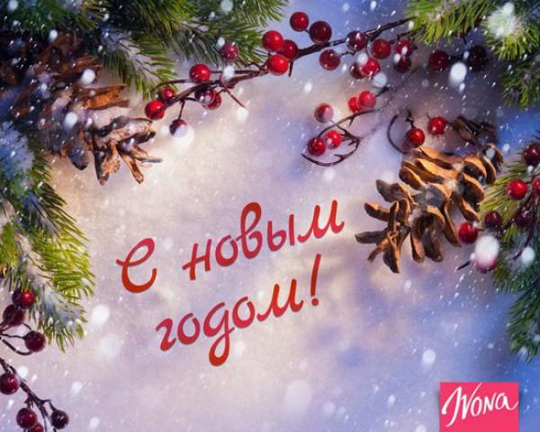 Подгузники, поздравления и открытки с новым 2016 годом