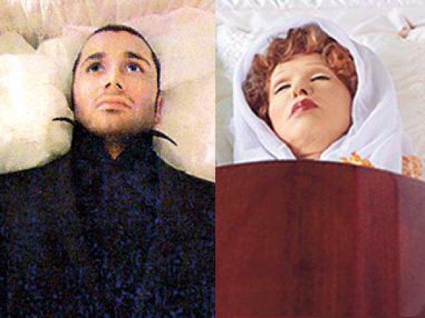 Фото Знаменитостей В Гробу