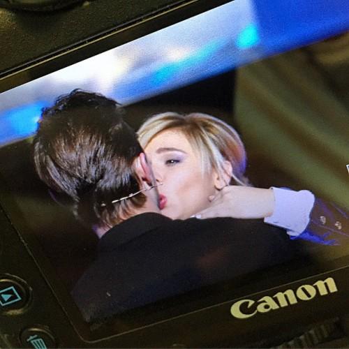 Дима И Билан поцеловались во время съемок российской передачи Голос. Дети