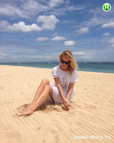 Ольга фреймут на пляж фото