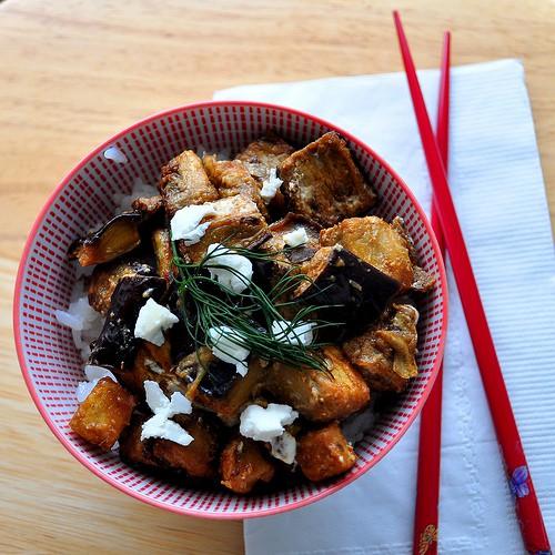 Рецепт                  Запеченные баклажаны с фетой