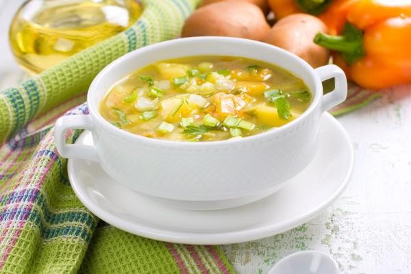 Рецепт                  Весенний суп из овощей