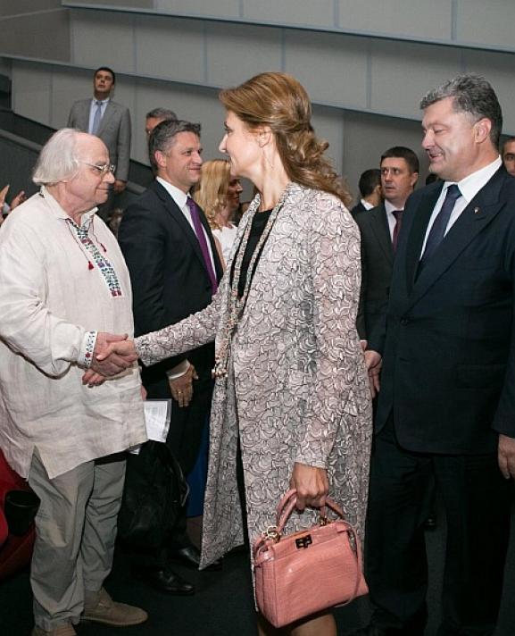 Марина Порошенко с сумкой Fendi