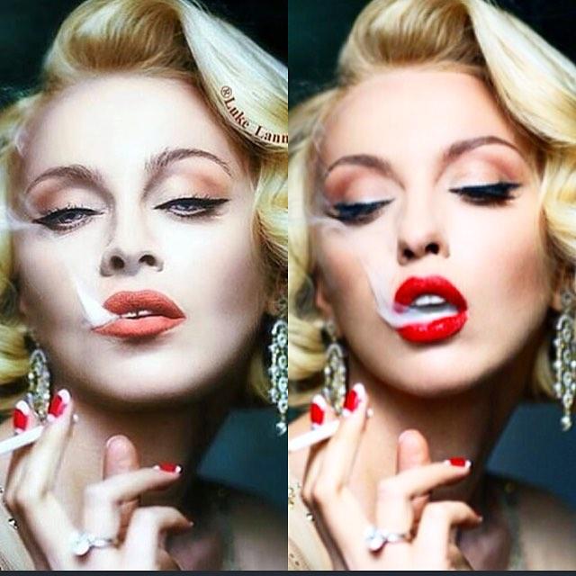 Оля Прлякова прокомментировала фото, размещенное Мадонной в Сети