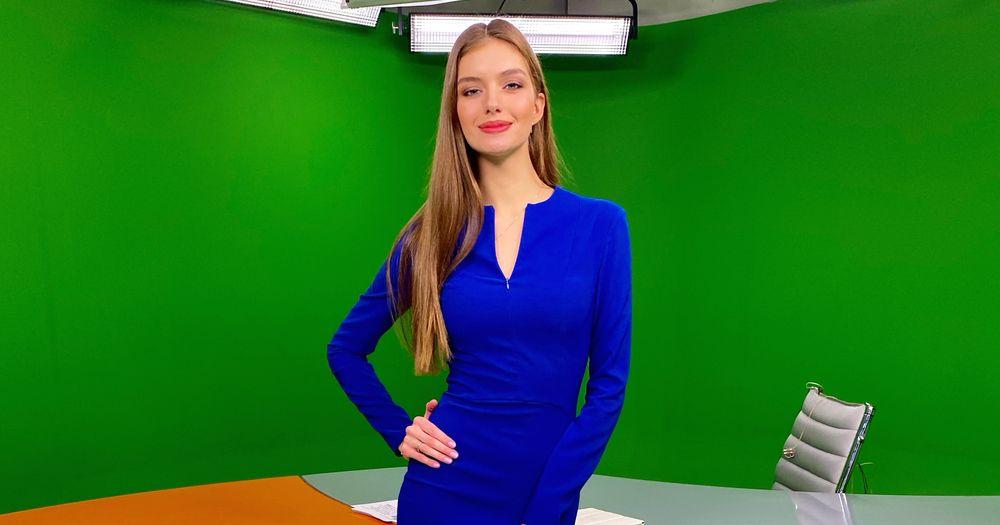 Александра Кучеренко стала ведущей «Фактов»