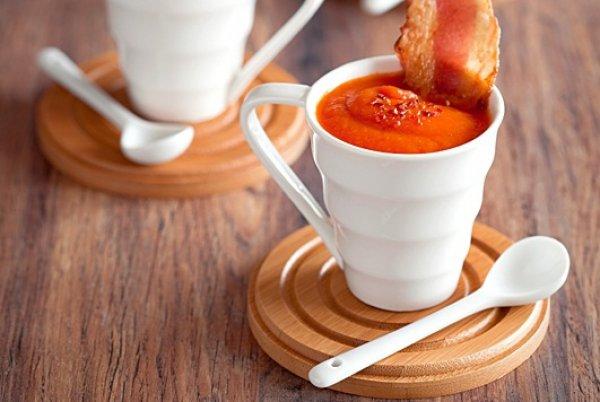 Рецепт                  Томатный суп-пюре