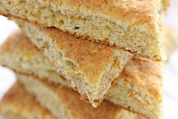 Рецепт                  Быстрый овсяный хлеб с сыром