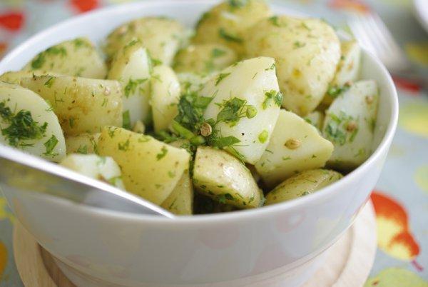 Рецепт                  ТОП-5 рецептов постного картофельного салата