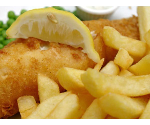 Рецепт Картошка-фри с рыбой