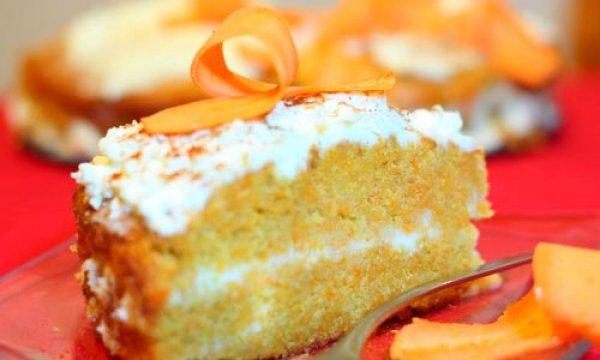 Рецепт                  Тыквенный торт с кремом из сливочного сыра