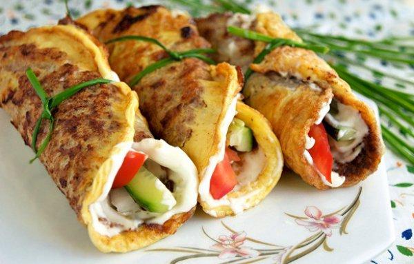 Рецепт                  Бризоль из мясного фарша с овощами