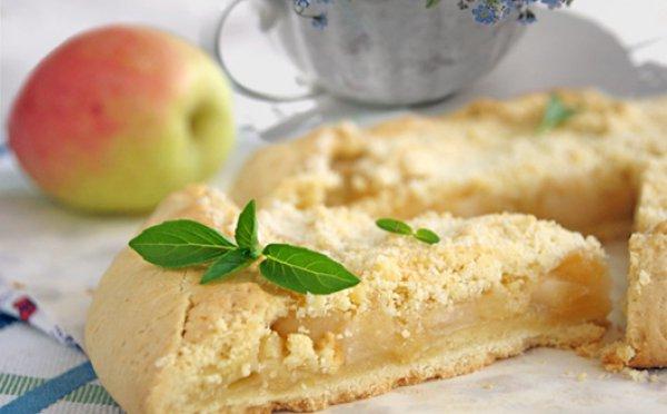 Рецепт                  Яблочная галета