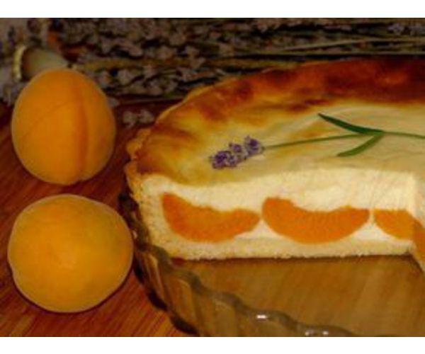 Рецепт                  Абрикосовый пирог с творогом