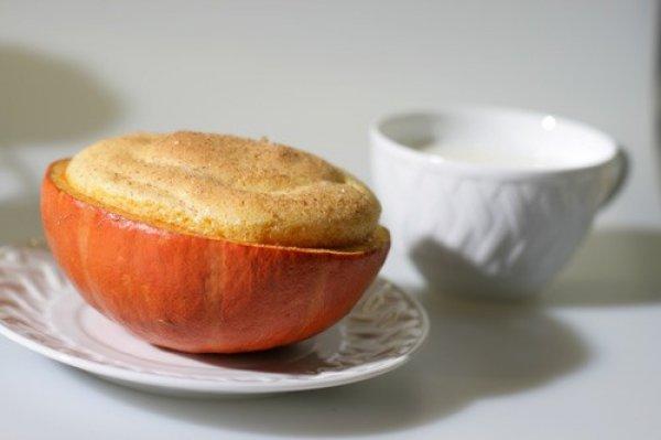 Рецепт                  Тыквенное суфле c яблоками