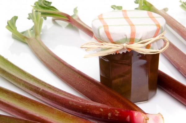 Рецепт                  Варенье из ревеня с ванилью