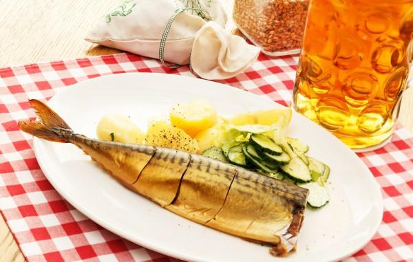 Рецепт                  Октоберфест: Рыбная закуска к пиву